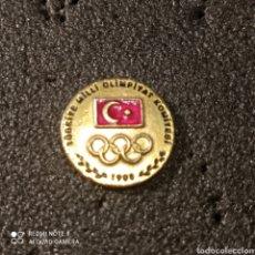 Coleccionismo deportivo: PIN COMITE OLIMPICO DE TURQUÍA. Lote 268881254
