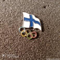 Coleccionismo deportivo: PIN COMITE OLIMPICO DE FINLANDIA. Lote 268891914
