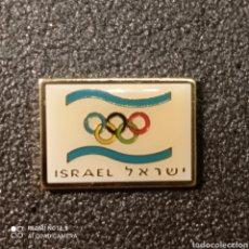 Coleccionismo deportivo: PIN COMITE OLIMPICO DE ISRAEL. Lote 268892494