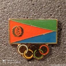 Coleccionismo deportivo: PIN COMITE OLIMPICO DE ERITREA. Lote 268892734