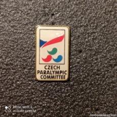 Coleccionismo deportivo: PIN COMITE PARAOLIMPICO DE REPUBLICA CHECA. Lote 268898309