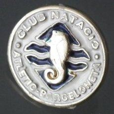 Coleccionismo deportivo: PIN CLUB NATACIO ATLÈTIC BARCELONETA (BARCELONA). Lote 271364388