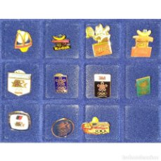 Coleccionismo deportivo: DIFICIL LOTE 11 PIN O PINS JUEGOS OLIMPICOS 1992, 1988, 1984, Y OTROS - MARCAS COMERCIALES.. Lote 277297778