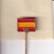 Coleccionismo deportivo: INSIGNIA DE AGUJA FEDERACIÓN ESPAÑOLA DE BALONCESTO.. Lote 277748708