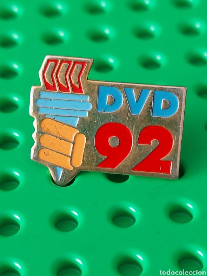 PIN OLIMPIADAS BARCELONA 92 DIFÍCIL (Coleccionismo Deportivo - Pins otros Deportes)