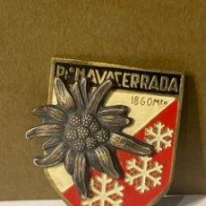 Coleccionismo deportivo: PUERTO NAVACERRADA PIN AGUJA DEPORTIVO MED.: 4,5X3 CMS. (GP). Lote 287696848