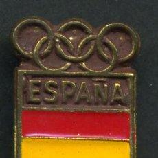Coleccionismo deportivo: PIN FUTBOL , ESPAÑA OLIMPICA , COMITE OLIMPICO ESPAÑOL ,PIN244. Lote 25742868