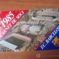 Coleccionismo deportivo: CARNET DE SOCIO DEL F.C.BARCELONA. Lote 22291494