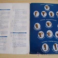 Coleccionismo deportivo - 13 PINS . LES COPES DEL BARÇA + 1899 / 1993 . FUTBOL CLUB BARCELONA - 10272723