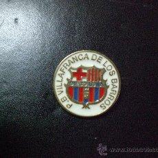 Coleccionismo deportivo: PIN BARCELONA PEÑA PENYA BARCELONISTA VILLAFRANCA DE LOS BARROS. Lote 22457285