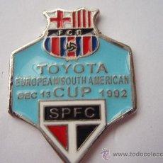 Coleccionismo deportivo: TOYOTA COPA INTERCONTINENTAL DE 1.992 PLATEADO. Lote 25205241