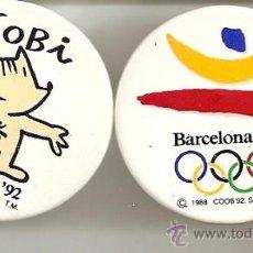 Coleccionismo deportivo: BARCELONA 92 COBI ,2 PINS. Lote 14277040