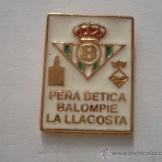 Coleccionismo deportivo: PEÑA BETICA LA LLAGOSTA. Lote 195164165