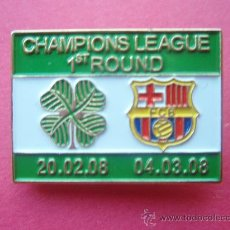 Coleccionismo deportivo: PIN DE LA CHAMPIONS LEAGUE DE 2.008. Lote 26724899
