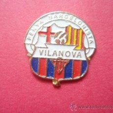 Coleccionismo deportivo: PEÑA BARCELONISTA VILANOVA. Lote 25841051