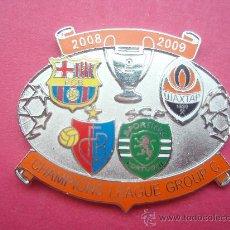 Coleccionismo deportivo: PIN DE LA CHAMPIONS LEAGE GRUPO C 2.008 - 09. Lote 26827709