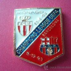 Coleccionismo deportivo: PIN DE LA CHAMPION DEL 93. Lote 26178139