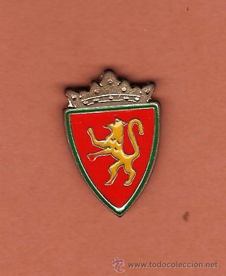 FUTBOL.- REAL ZARAGOZA.- ESCUDO - EP 1/2 (Coleccionismo Deportivo - Pins de Deportes - Fútbol)