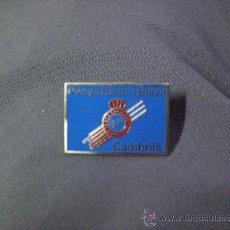 Coleccionismo deportivo: PIN PENYA PEÑA R C ESPAÑOL ESPANYOL CAMBRILS. Lote 23843270