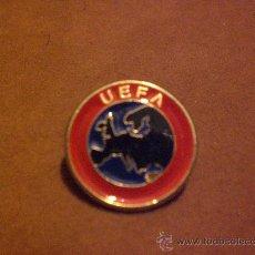 Coleccionismo deportivo: PIN FUTBOL UEFA FEDERACION EUROPEA FUTBOL. Lote 38316726