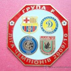 Coleccionismo deportivo: PIN FC BARCELONA - SUPER COPA DE EUROPA 2009. Lote 26968997