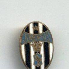 Coleccionismo deportivo: PIN AGUJA. ALFILER. ESCUDO DEL CLUB DE FUTBOL JUVENTUS DE TURIN. SCUDETTO CALCIO. ITALIA. PINS.. Lote 36843447