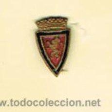 Coleccionismo deportivo: PIN DEPORTIVOS, EQUIPO FÚTBOL ESPAÑA, REAL ZARAGOZA C.F.. Lote 20662089