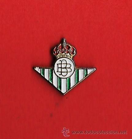PIN. REAL CLUB BETIS BALONPIE. ESCUDO MINI. METAL ESMALTADO. EP 1 (Coleccionismo Deportivo - Pins de Deportes - Fútbol)