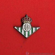 Coleccionismo deportivo: PIN. REAL CLUB BETIS BALONPIE. ESCUDO MINI. METAL ESMALTADO. EP 1. Lote 21324806