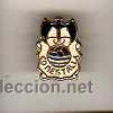 Coleccionismo deportivo: INTERESANTE INSIGNIA - PIN DE FUTBOL DEL CENTRO DE DEPORTES MESTALLA. Lote 24270248