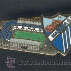Coleccionismo deportivo: PIN ESMALTADO DEL ESTADIO DE LA ROSALEDA (MÁLAGA C.F.). Lote 99383663