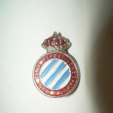 Coleccionismo deportivo: ANTIGUA INSIGNIA....R.C.D. ESPAÑOL. Lote 27071609