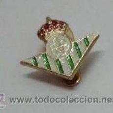 Coleccionismo deportivo: INSIGNA PINS. EQUIPO DE FUTBOL. REAL BETIS BALOMPIE PINS-001. Lote 176821483