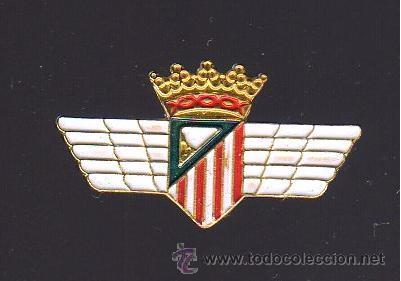 Pin Atlético de Madrid Atlético Aviación