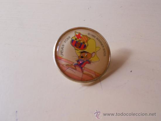 PINS DEL FC BARCELONA DE LA WARNER BROS - SPEEDY GONZALEZ- (Coleccionismo Deportivo - Pins de Deportes - Fútbol)