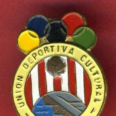 Coleccionismo deportivo: PIN O INSIGNIA FUTBOL , CLUB FUTBOL , UNION DEPORTIVA CULTURAL ROCHAPEA , ORIGINAL , ANTIGUO , K. Lote 29936792