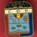 Coleccionismo deportivo: PIN O INSIGNIA FUTBOL , CLUB FUTBOL , CD P , NO LO SE , VALENCIA , ORIGINAL , ANTIGUO , C1. Lote 97376188