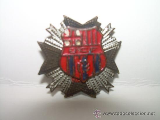 Coleccionismo deportivo: ANTIGUA Y MUY RARA INSIGNIA...... B.C.F... BARCELONA.C. F.... BARÇA - Foto 2 - 31380546