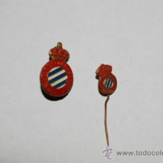 Coleccionismo deportivo: 2 PINS FUTBOL ESPAÑOL. Lote 34345143