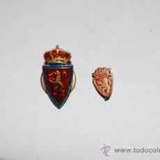 Coleccionismo deportivo: 2 PINS FUTBOL ZARAGOZA. Lote 34345210
