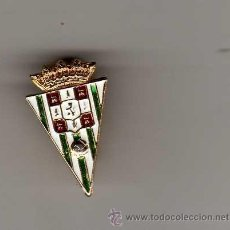 Coleccionismo deportivo: INSIGNIA SOLAPERA - CORDOBA CF. Lote 32638426