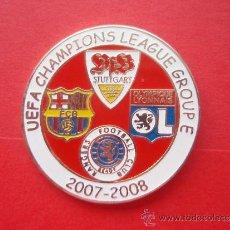 Coleccionismo deportivo: PIN DEL BARÇA - FC BARCELONA FASE DE GRUPOS CHAMPIONS 2008. Lote 33798152