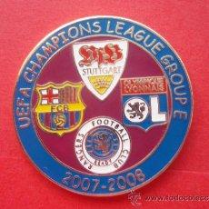 Coleccionismo deportivo: PIN DEL BARÇA - FC BARCELONA FASE DE GRUPOS CHAMPIONS 2008. Lote 33798155