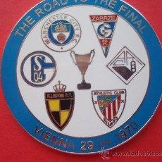 Coleccionismo deportivo: THE ROAN THE FINAL VIENA 1.970. Lote 33798336