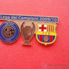 Coleccionismo deportivo: PIN'S DE LA CHAMPION'S DEL 2.009 - 10. Lote 33798355
