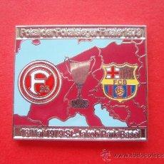 Coleccionismo deportivo: PIN F C BARCELONA FINAL DEL 1.979. Lote 33798759