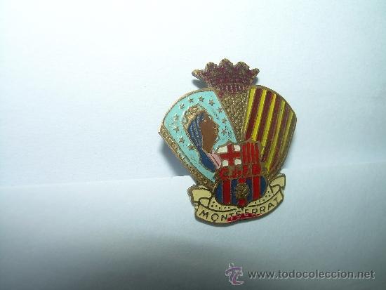 Coleccionismo deportivo: ANTIGUA Y RARA INSIGNIA.....C. DE F. BARCELONA.....MONTSERRAT - Foto 5 - 35417337