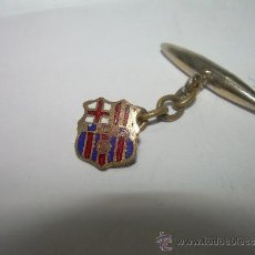 Coleccionismo deportivo: ESCUDO ESMALTADO....BARCELONA C.F. (GEMELO). Lote 35417505