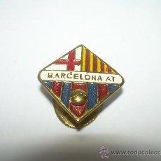Coleccionismo deportivo: ANTIGUA INSIGNIA......BARCELONA ATLETIC.. Lote 35568029