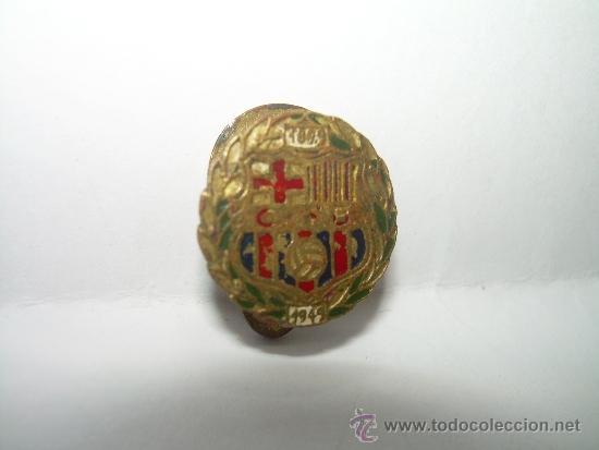 Coleccionismo deportivo: ANTIGUA INSIGNIA...........C.F. BARCELONA.....1988 - 1949 - Foto 4 - 35707140